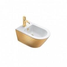 Биде Catalano Gold&Silver, gold/white