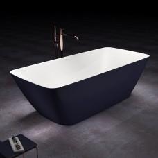 Ванна отдельностоящая DEVIT UP 17056120BG отдельностоящая с цветным фасадом 1700x800x560