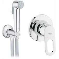 Набор гигиенический душ со смесителем Grohe BauLoop 2 в 1 2904200B