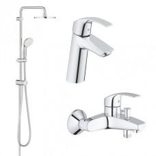Grohe Eurosmart набор для ванны 3 в 1 (123246R)