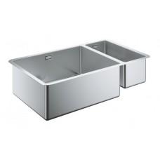 Мойдка для кухни Grohe 760x450 мм, под столешницу, 1,5 чаши, матовая (31575SD0)