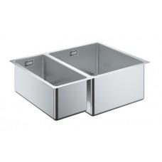 Мойдка для кухни Grohe 585x440 мм, под столешницу, 1,5 чаши, матовая (31576SD0)