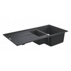 Мойдка для кухни Grohe 1000х500 мм, Granite Black (31642AP0)