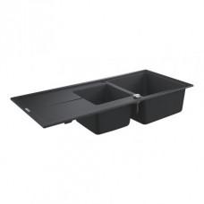 Мойдка для кухни Grohe 1160х500 мм, Granite Black (31643AP0)
