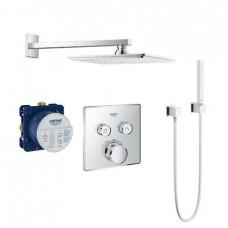 Grohe Grohtherm SmartControl Rainshower Allure 230 душевая система 34506SC0