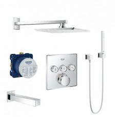 Grohe Grohtherm SmartControl Душевая система с Rainshower Allure 230 (34506SC2)