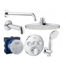 Grohe Grohtherm SmartControl Душевая система для ванны скрытого монтажа (3461402L)