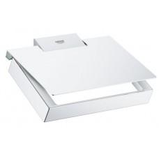Grohe Selection Cube Держатель туалетной бумаги с крышкой (40781000)