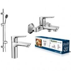 Набор смесителей для ванны Imprese kit20080 3 в 1