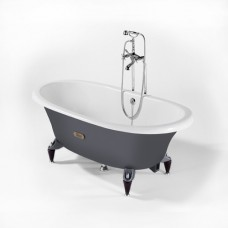 Ванна чугунная ROCA NEWCAST 170*85 см серая