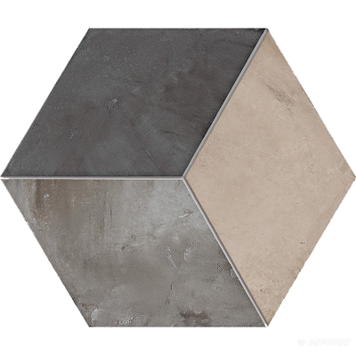 Керамогранит Marca Corona Terra 0398 ROMBO VERS. F 9×250×216