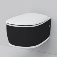 Подвесной унитаз Artceram Azuley (AZV001 01;50) white glossy/black bicolor
