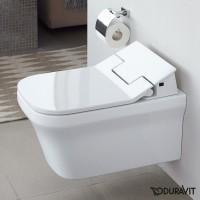 Подвесной безободковый унитаз Duravit Rimless P3 Comforts SensoWash 2561590000