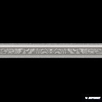 Плитка Almera Ceramica Loom MOLD GRIS фриз 8×280×50