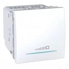 Светорегулятор нажимной Schneider Unica 20-350W Белый (MGU3.515.18)