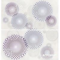 Плитка APE Ceramica Armonia DEC SET (2) SENSAZIONE MALVA декор2 8×600×310