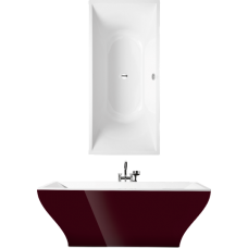 Ванна квариловая Villeroy&Boch La Belle UBQ180LAB2PDBCV-01 + панель + сифон