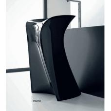Каменная раковина 57 см Artceram Miss, black (OSL012 03;00)