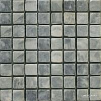 Мозаика Mozaico de Lux Stone C-MOS MUGWORT GREEN 10×15×15