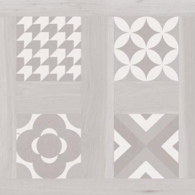 Керамогранит Argenta Ceramica Selandia Decor Bianco 10×600×600