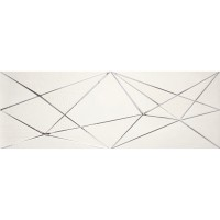 Плитка APE Ceramica Crea DECOR ZIG ZAG WHITE декор 10×900×300