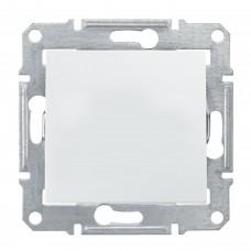 1-клавишный выключатель Schneider Sedna Белый (SDN0100321)