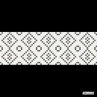 Плитка Opoczno Pret-a-Porter BLACK&WHITE MOSAIC декор 10×750×250