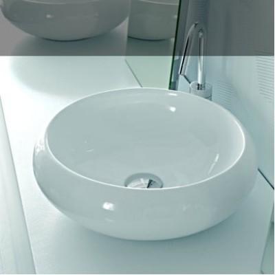 Керамическая раковина 43 см Artceram Tao, white glossy (TOL001 01;00)