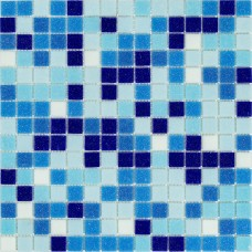 Мозаика Stella di Mare R-MOS B113132333537 микс голубой-6 20x20