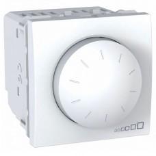 Светорегулятор поворотно-нажимной Schneider Unica 40-400W Белый (MGU3.511.18)