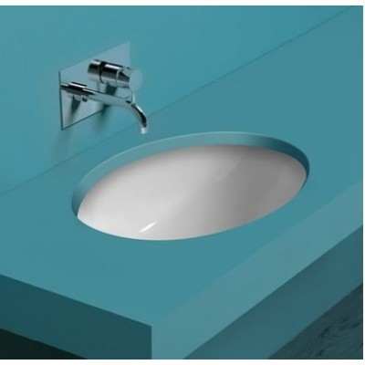 Керамическая раковина 58 см Simas Top-Lavabi, bianco glossy S 53