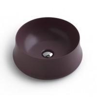 Керамическая раковина 42 см Simas Sharp, prugna matt SH 02