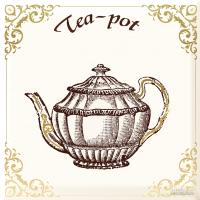 Плитка Monopole Ceramica Kitchen IRISH TEA декор 7×150×150
