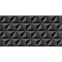 Плитка Cerama Market DIAMOND BLACK STAR DEKOR 30х60 (стіна)