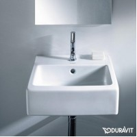 Керамическая раковина 45 см Duravit Vero, белая 0704450000