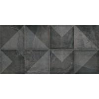 Плитка Cerama Marke SLATE NERO DECOR (стіна) 30х60