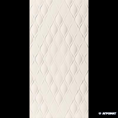 Плитка Marca Corona 4D D731 DROP WHITE MATT 8×800×400
