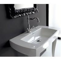 Керамическая раковина 91,5 см Artceram Jazz, white glossy (JZL001 01;00)