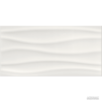 Плитка Opoczno Basic Palette WHITE WAVE глянец 9×600×297