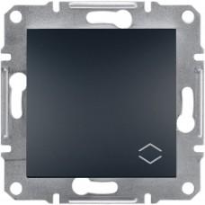 1-клавишный выключатель Schneider Asfora Антрацит (EPH0400171)