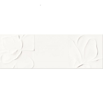 Плитка Opoczno STRUCTURE PATTERN WHITE FLOWER STRUCTURE 10×750×250