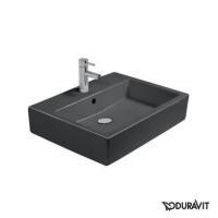 Керамическая раковина 60 см Duravit Vero, черная 0454600827