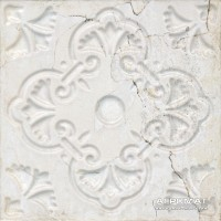 Плитка Aparici Aged WHITE ORNATO декор 8×200×200
