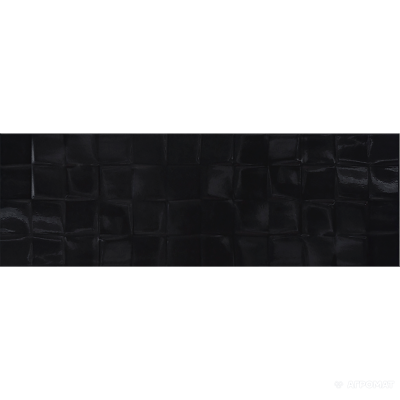⇨ Вся плитка | Плитка Cersanit Simple Art BLACK GLOSSY STRUCTURE CUBES в интернет-магазине ▻ TILES ◅