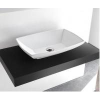 Керамическая раковина 60 см Artceram Jazz, white glossy (JZL002 01;00)