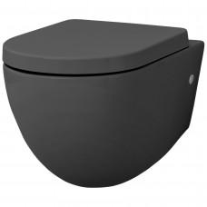 Подвесной безободковый унитаз Artceram File 2.0 (FLV004 15;00) grey olive