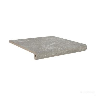⇨ Клинкерная плитка | Клинкер Exagres Stone PELDANO FIOR. ML. GRIS ступени в интернет-магазине ▻ TILES ◅