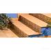 ⇨ Клинкерная плитка | Клинкер Exagres Vega PELDANO FIOR. OCRE ступени в интернет-магазине ▻ TILES ◅