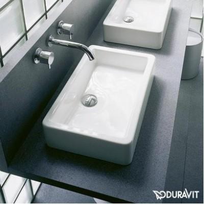 ⇨ Раковины | Керамическая раковина 60 см Duravit Vero 0455600000 в интернет-магазине ▻ TILES ◅