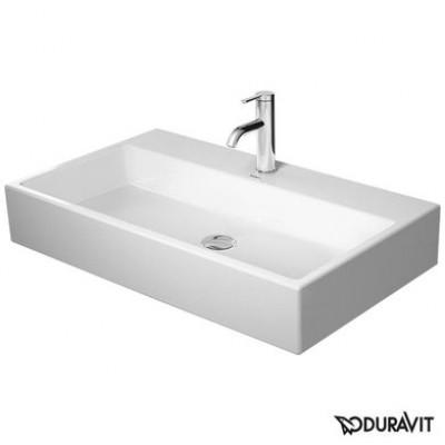 ⇨ Раковины | Керамическая раковина 80 см Duravit Vero Air 2350800041 в интернет-магазине ▻ TILES ◅